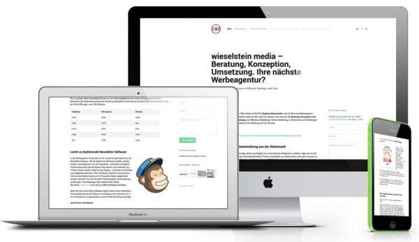 Responsive Webdesign Wieselstein Media